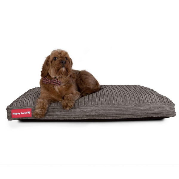 The-Mattress-Orthopedic-Classic-Memory-Foam-Dog-Bed-Cord-Graphite-Grey_2
