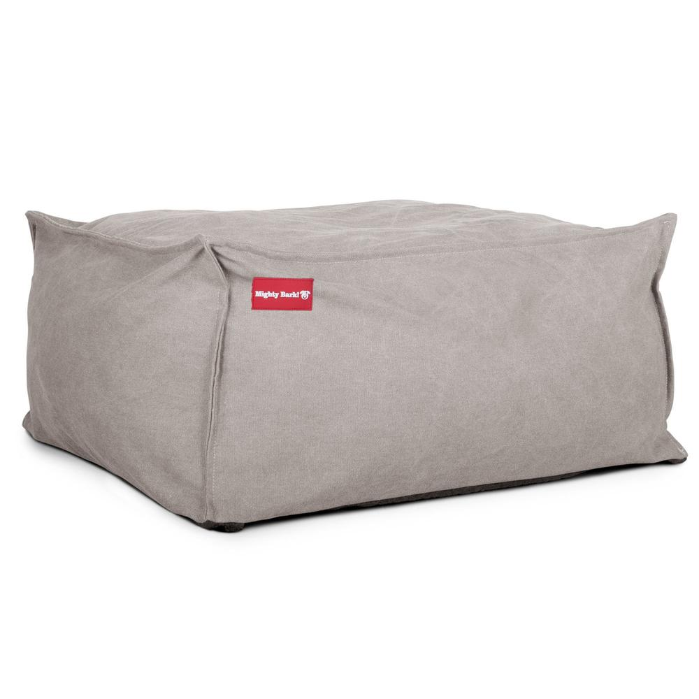 The-Crash-Pad--Memory-Foam-Dog-Bed-Stonewashed-Denim-Pewter_3