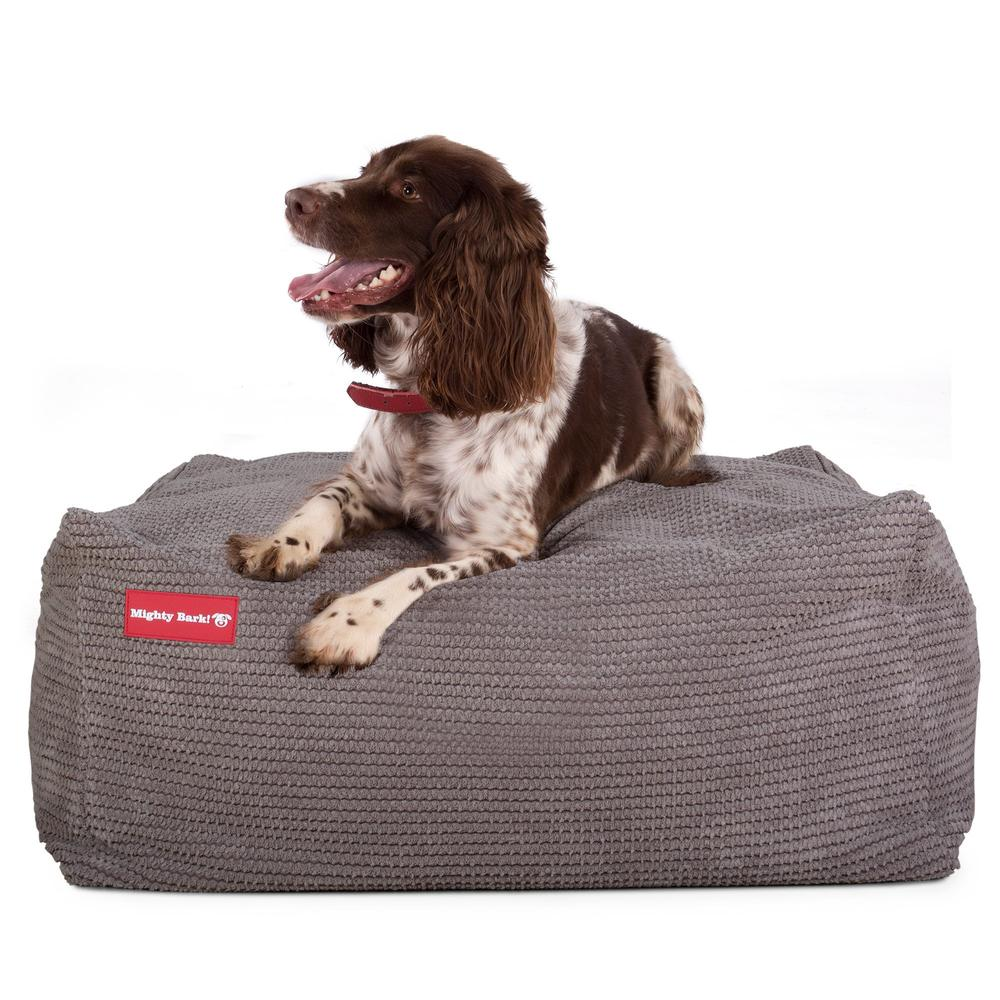 the-crash-pad-memory-foam-dog-bed-pom-pom-charcoal_4