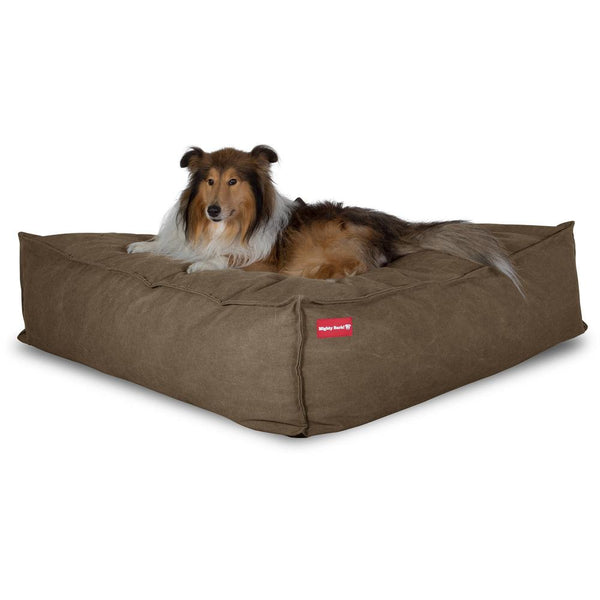 the-crash-pad-memory-foam-dog-bed-denim-earth_1