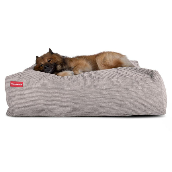 The-Crash-Pad--Memory-Foam-Dog-Bed-Pom-Pom-Mink_1
