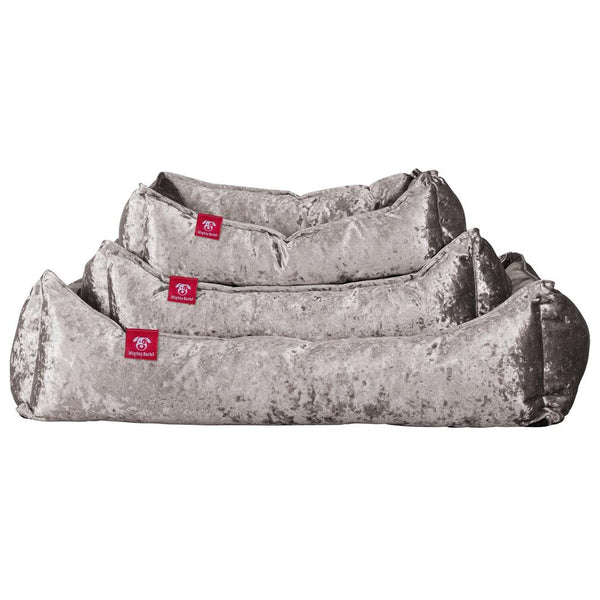 The-Nest-Orthopedic-Memory-Foam-Dog-Bed-Glitz-Silver_1