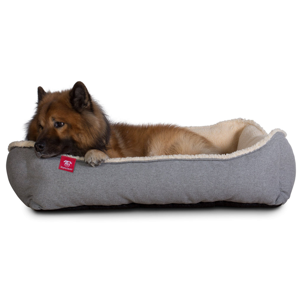The-Nest-Orthopedic-Memory-Foam-Dog-Bed-Interalli-Lambswool-Silver_7