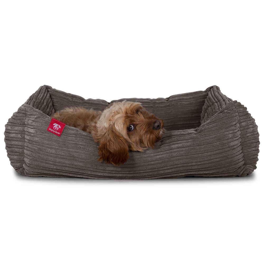 The-Nest-Orthopedic-Memory-Foam-Dog-Bed-Cord-Graphite-Grey_3