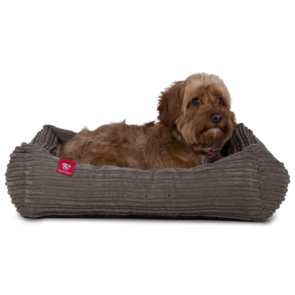The-Nest-Orthopedic-Memory-Foam-Dog-Bed-Cord-Graphite-Grey_5