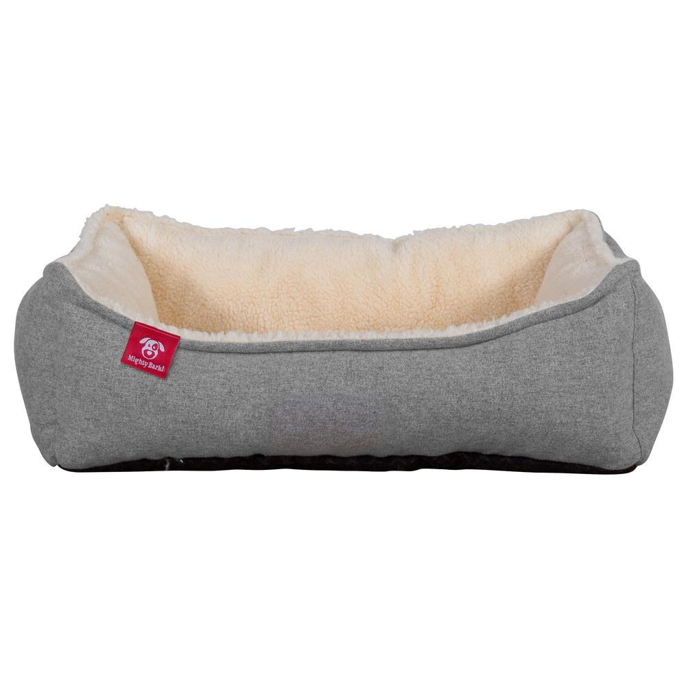 The-Nest-Orthopedic-Memory-Foam-Dog-Bed-Interalli-Lambswool-Silver_4