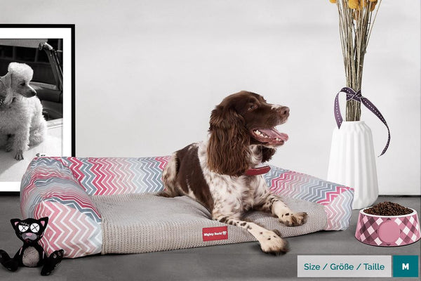 The-Sofa-Orthopedic-Memory-Foam-Sofa-Dog-Bed-Geo-Print-Chevron-Pink_2
