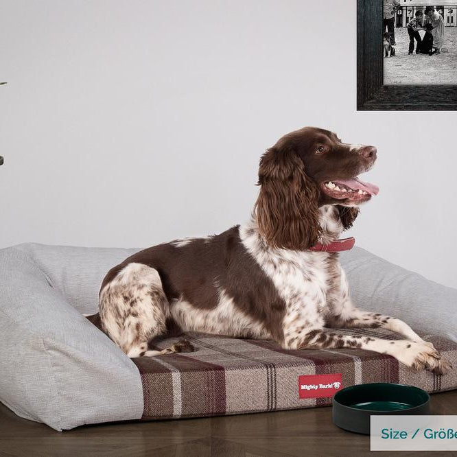 The-Sofa-Orthopedic-Memory-Foam-Sofa-Dog-Bed-Tartan-Mulberry_2