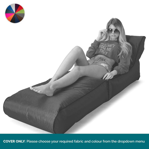 SmartCanvas™-Folding-Sun-Lounger-Bean-Bag-Chair-COVER-ONLY-Replacement-/-Spares_1