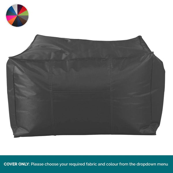 SmartCanvas™ Large Square Pouffe COVER ONLY - Replacement / Spares