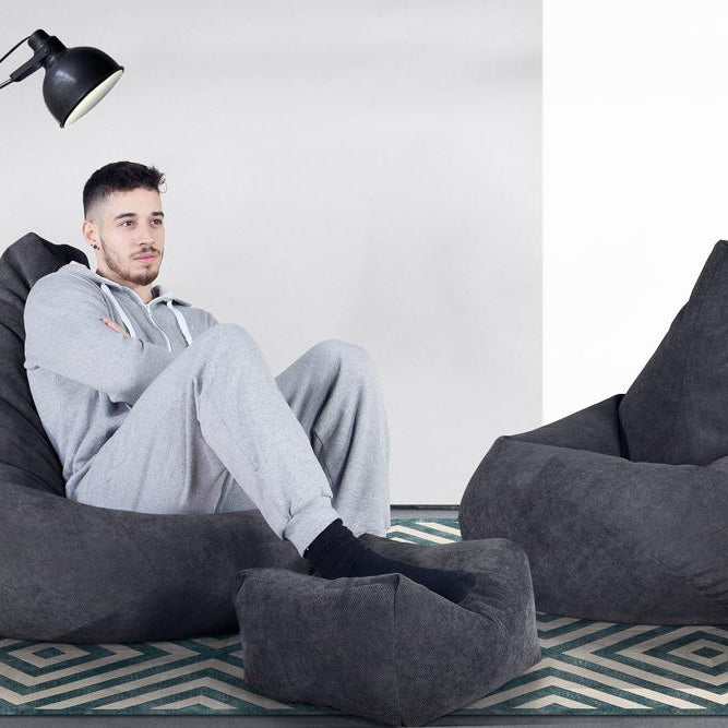 Highback-Bean-Bag-Chair-Flock-Graphite-Grey_2