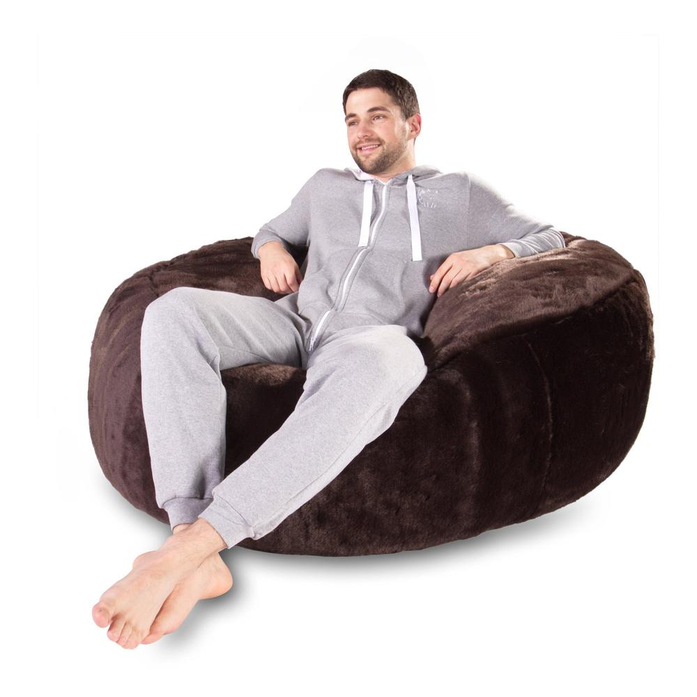 Mammoth-Bean-Bag-Sofa-Fluffy-Faux-Fur-Brown-Bear_3
