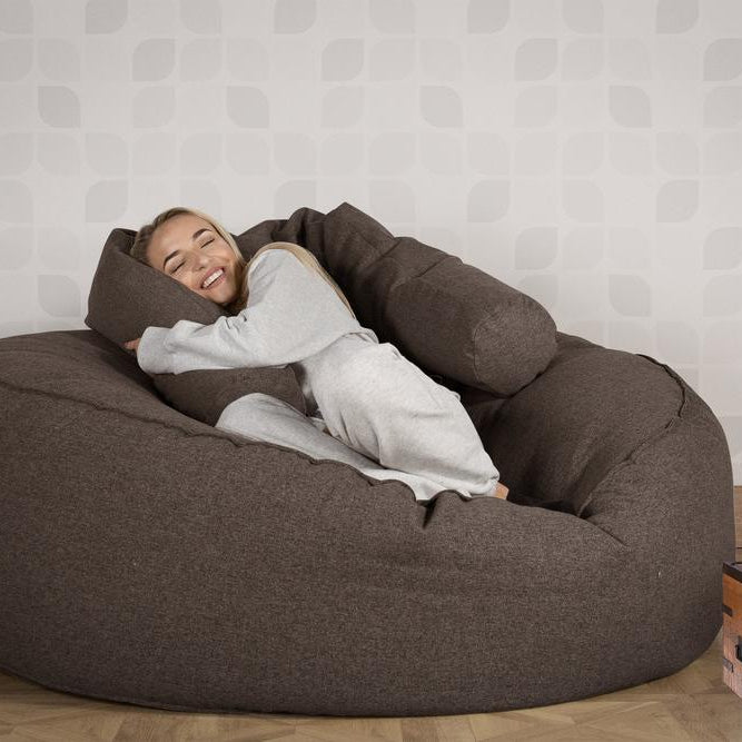 Mega-Mammoth-Bean-Bag-Sofa-Interalli-Wool-Grey_2