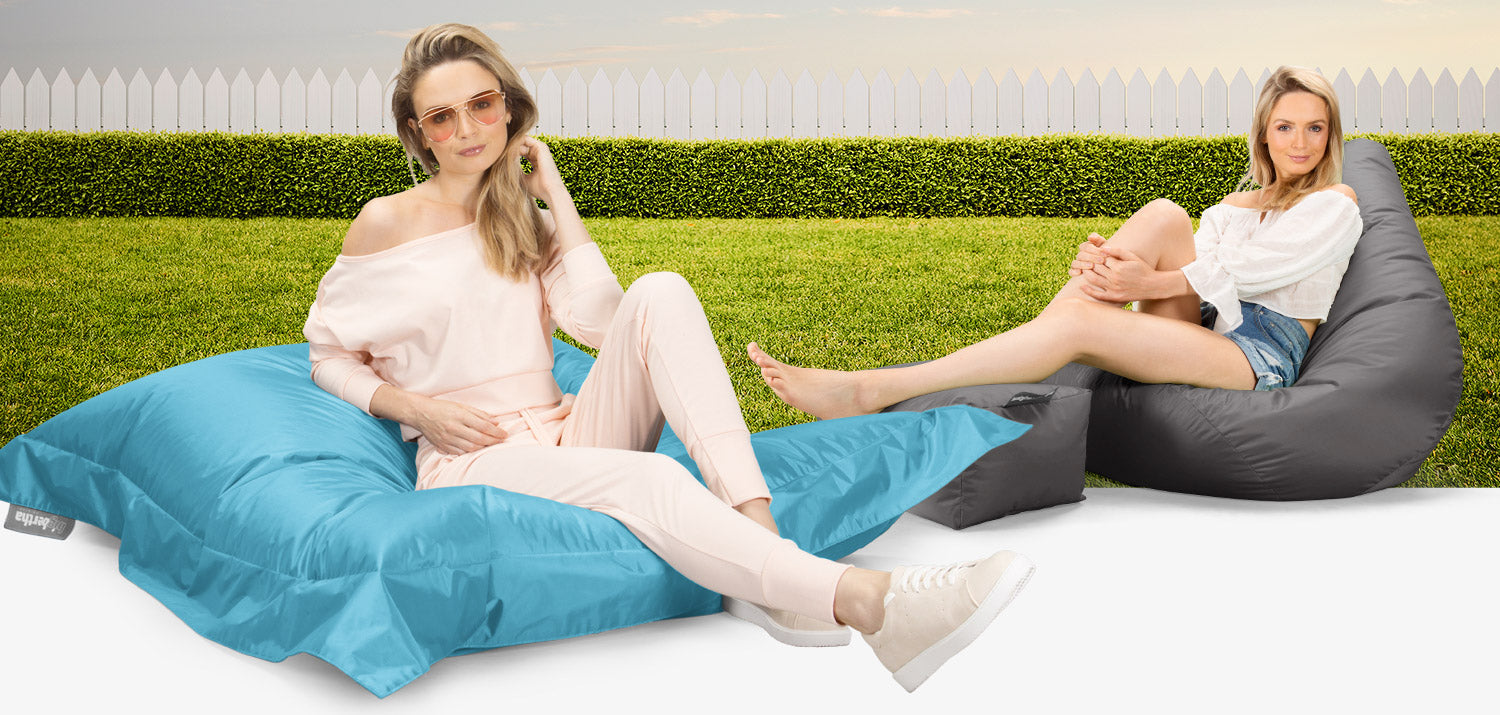 With an easy-to-clean finish and resistant and durable material, this practical water-resistant beanbag is always ready for your rest.
