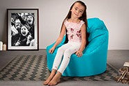 Childs's Comfy Padded Chair