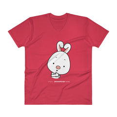 Thumbs Up V-Neck T-Shirt
