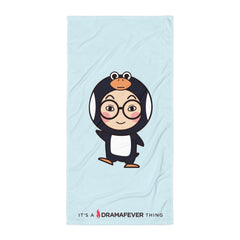 RM Single Penguin Beach Blanket