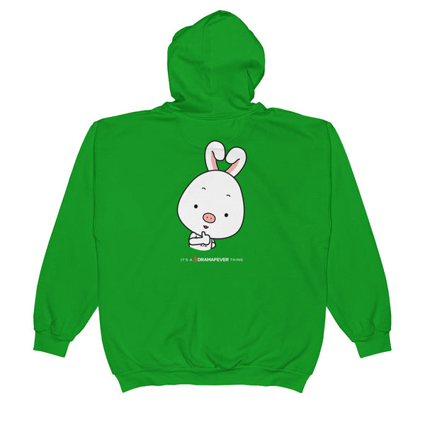 Thumbs Up Unisex Zip Hoodie
