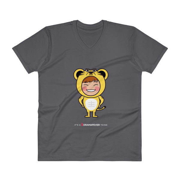 RM Single Tiger V-Neck T-Shirt