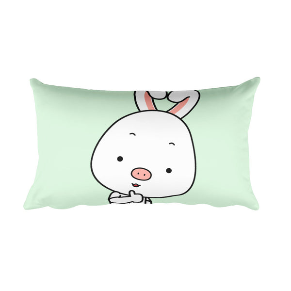 Thumbs Up Rectangular Pillow