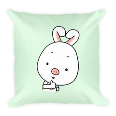 Thumbs Up Square Pillow