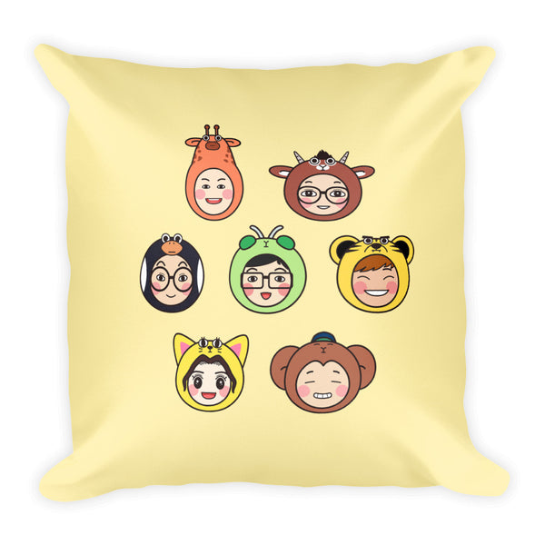 RM Heads Square Pillow