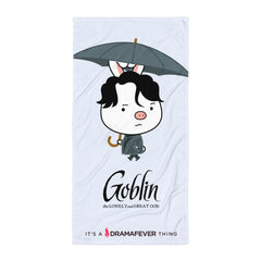 Goblin Umbrella Beach Blanket