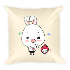 Dancing Square Pillow