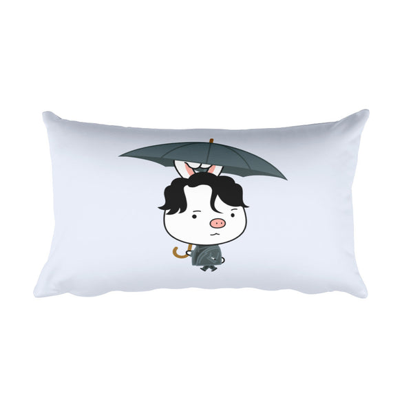 Goblin Umbrella Rectangular Pillow