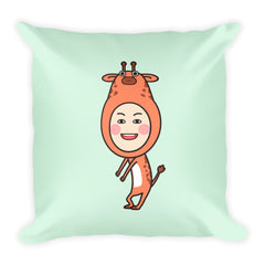 RM Single Giraffe Square Pillow