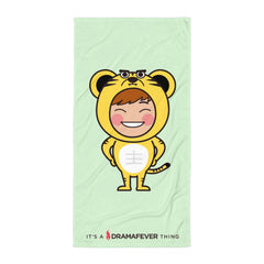 RM Single Tiger Beach Blanket
