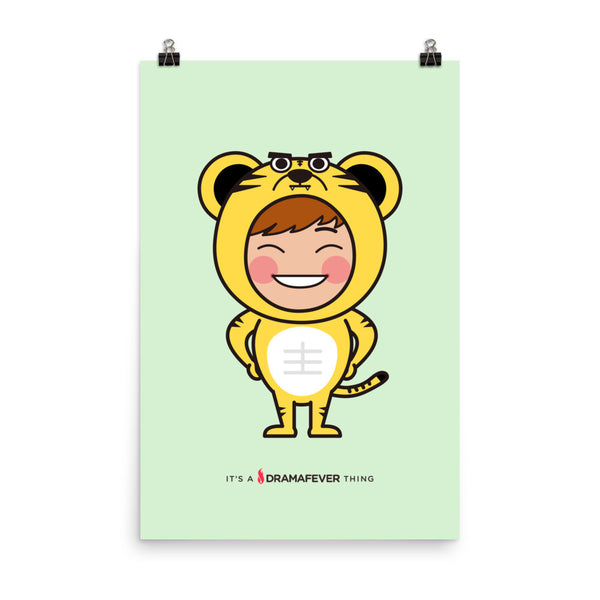 RM Single Tiger Poster