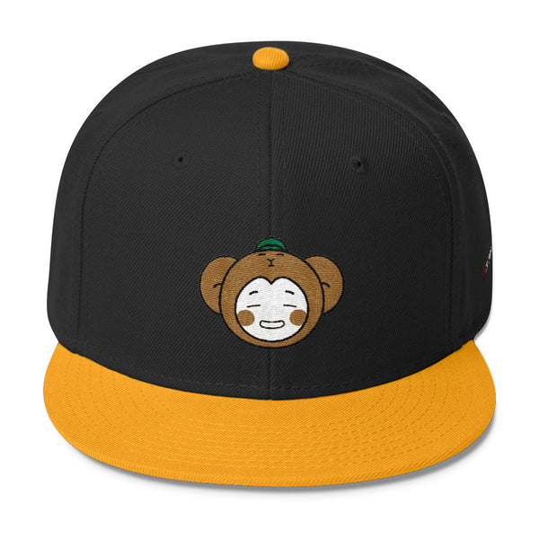 RM Single Monkey Wool Blend Snapback