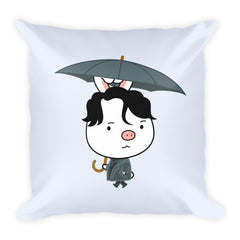 Goblin Umbrella Square Pillow
