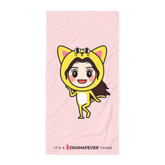 RM Single Cat Beach Blanket