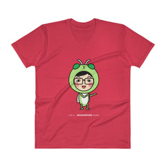 RM Single Grasshopper V-Neck T-Shirt