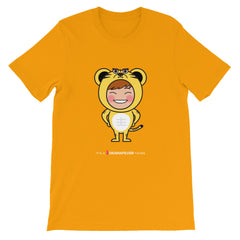 RM Single Tiger Unisex short sleeve t-shirt