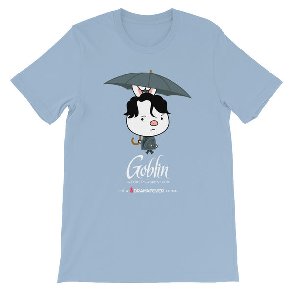 Goblin Umbrella Unisex short sleeve t-shirt