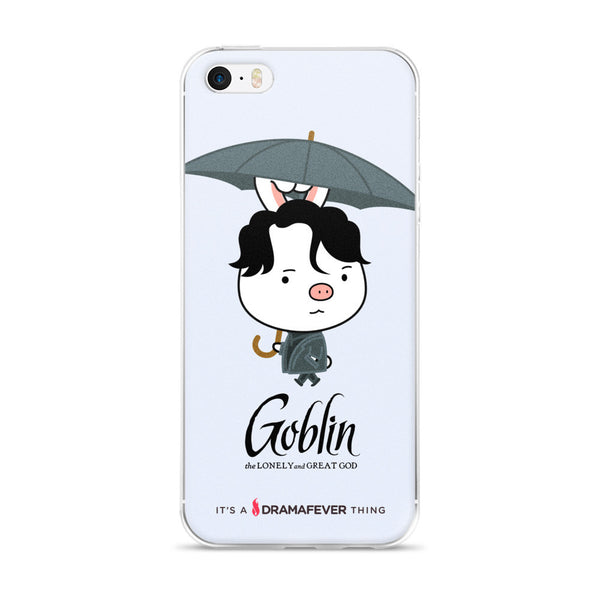 Goblin Umbrella iPhone 5/5s/Se, 6/6s, 6/6s Plus Case