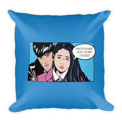 Back Hug Square Pillow