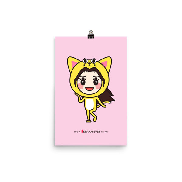 RM Single Cat Poster
