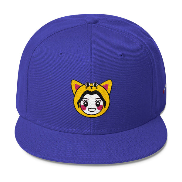 RM Single Cat Wool Blend Snapback