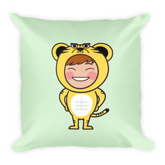 RM Single Tiger Square Pillow