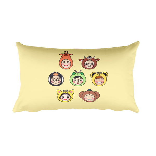 RM Heads Rectangular Pillow