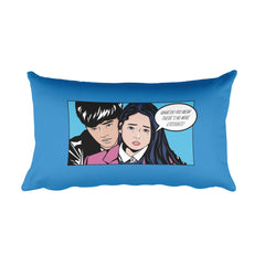 Back Hug Rectangular Pillow