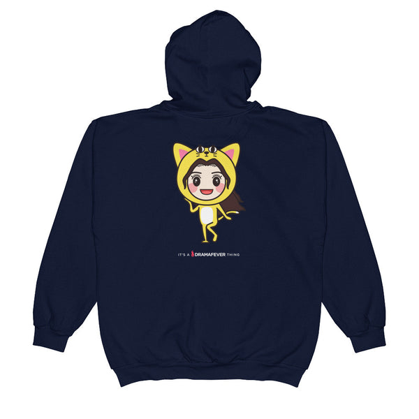 RM Single Cat Unisex Zip Hoodie