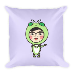 RM Single Grasshopper Square Pillow