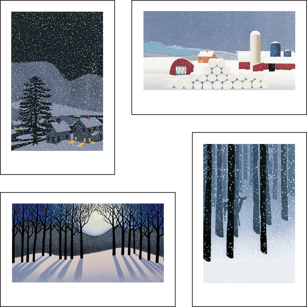 2016 Sabra Field Holiday Notecards