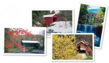 Covered Bridges of Vermont Notecards