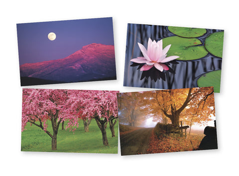 Four Seasons of Vermont Notecards